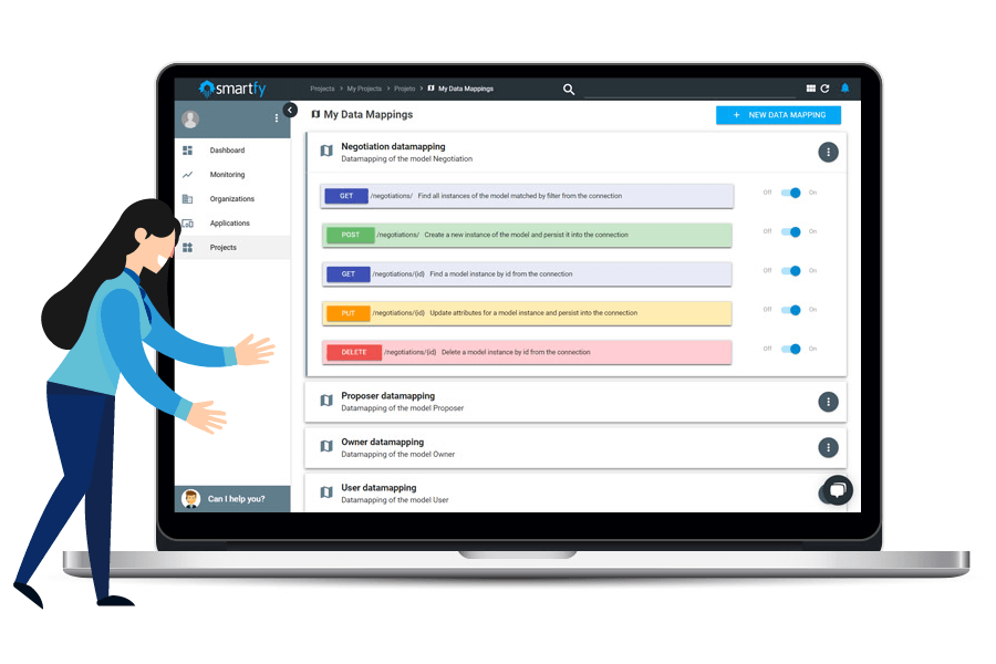 Smartfy Platform Visual Canvas